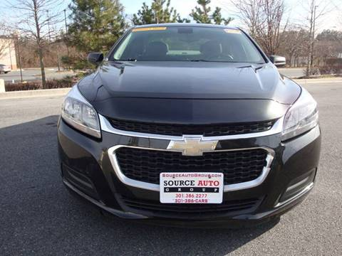 2014 Chevrolet Malibu for sale at Source Auto Group in Lanham MD