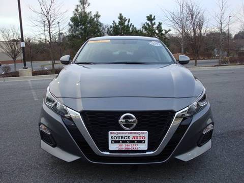 2020 Nissan Altima for sale at Source Auto Group in Lanham MD