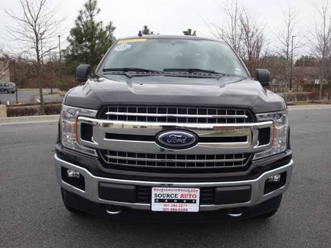 2019 Ford F-150 for sale at Source Auto Group in Lanham MD