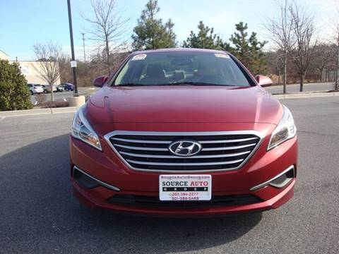2016 Hyundai Sonata for sale at Source Auto Group in Lanham MD