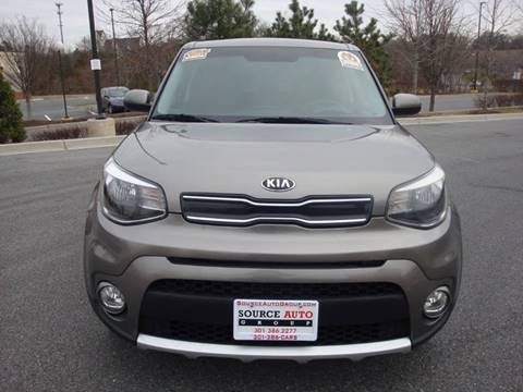 2017 Kia Soul for sale at Source Auto Group in Lanham MD