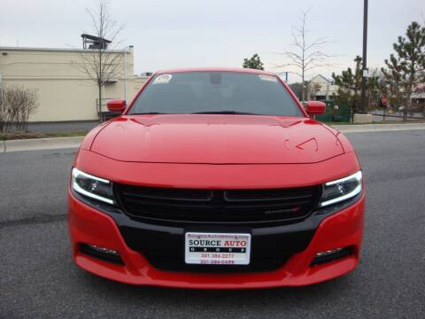 2018 Dodge Charger for sale at Source Auto Group in Lanham MD