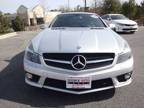 2009 Mercedes-Benz SL-Class for sale at Source Auto Group in Lanham MD