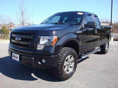 2013 Ford F-150 for sale at Source Auto Group in Lanham MD