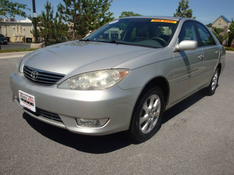 2006 Toyota Camry for sale at Source Auto Group in Lanham MD