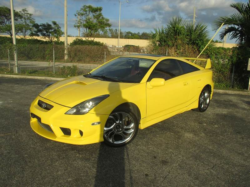 2003 toyota celica gt s 2dr hatchback in miami fl. Black Bedroom Furniture Sets. Home Design Ideas