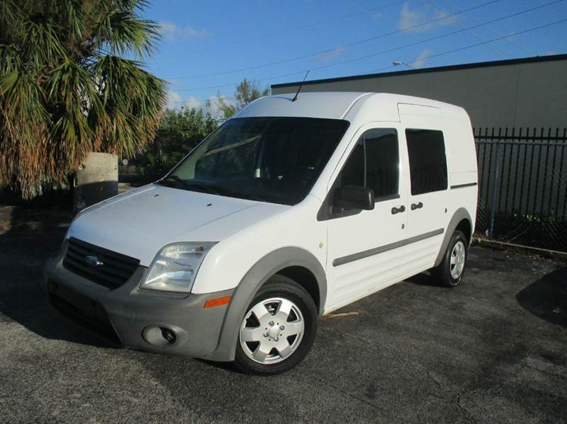 2010 Ford Transit Connect Cargo Van Xl 4dr Mini W Side And Rear