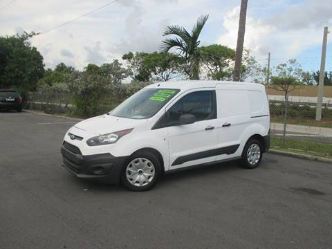 2015 Ford Transit Connect Cargo for sale in Miami, FL