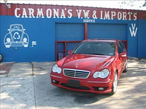 2005 Mercedes-Benz C-Class for sale at CARMONA'S VW & IMPORTS in Mission TX