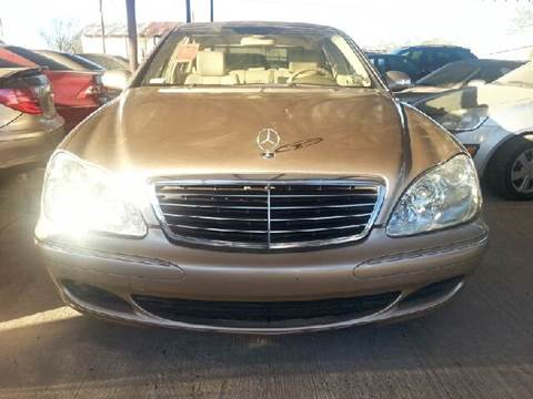 2004 Mercedes-Benz S-Class for sale at CARMONA'S VW & IMPORTS in Mission TX