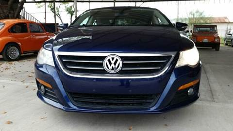 2010 Volkswagen CC for sale at CARMONA'S VW & IMPORTS in Mission TX