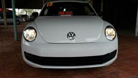 2013 Volkswagen Beetle for sale at CARMONA'S VW & IMPORTS in Mission TX
