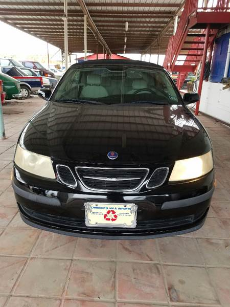 2005 Saab 9-3 for sale at CARMONA'S VW & IMPORTS in Mission TX