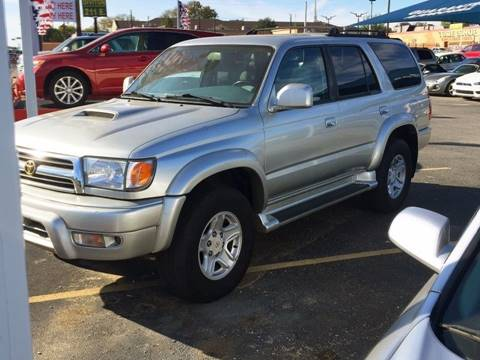 2000 Toyota 4runner For Sale In Texas Carsforsale Com