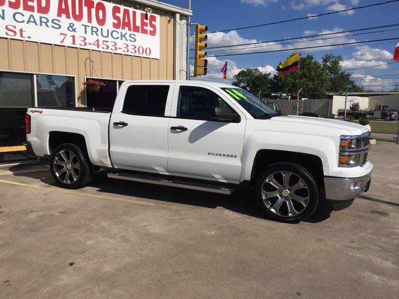 2014 Chevrolet Silverado 1500 4x4 LT 4dr Crew Cab 5.8 ft. SB w/Z71 - Houston TX