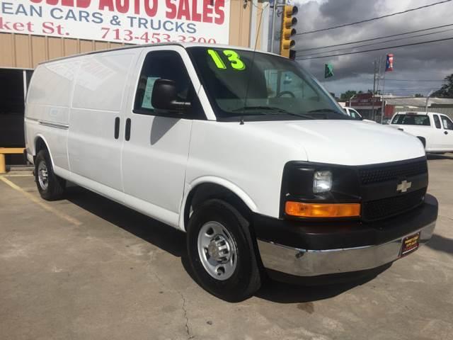 2013 Chevrolet Express Cargo 3500 3dr Extended Cargo Van w/ 1WT - Houston TX