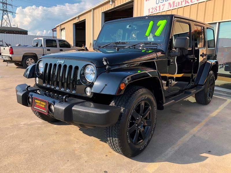 2017 jeep wrangler unlimited 4x4 sport rhd 4dr suv in houston tx market street auto sales inc. Black Bedroom Furniture Sets. Home Design Ideas