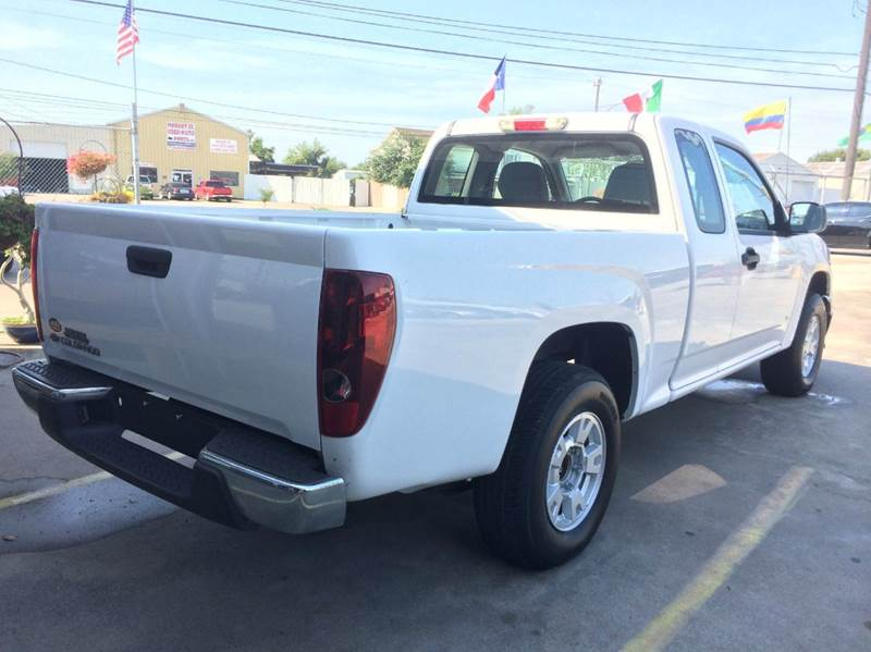 2008 Chevrolet Colorado 4x2 Work Truck Extended Cab 4dr - Houston TX