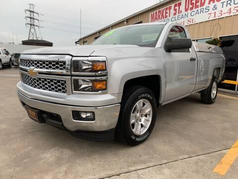 2015 Chevrolet Silverado 1500 Work Truck for sale at Market Street Auto Sales INC in Houston TX