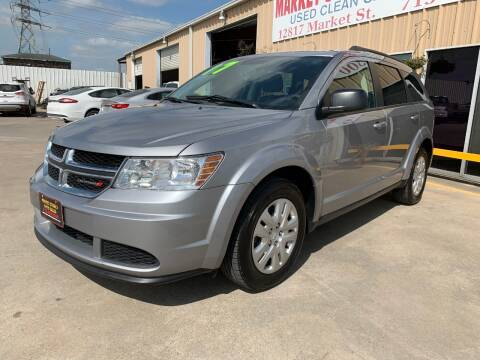 2017 Dodge Journey SE for sale at Market Street Auto Sales INC in Houston TX