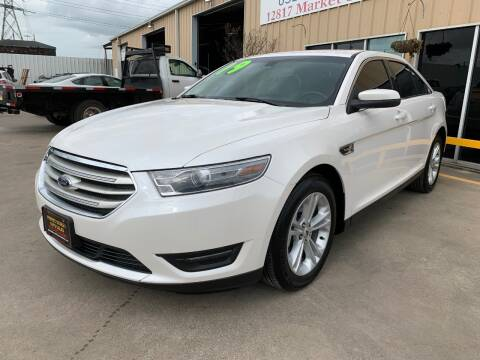 2019 Ford Taurus SEL for sale at Market Street Auto Sales INC in Houston TX