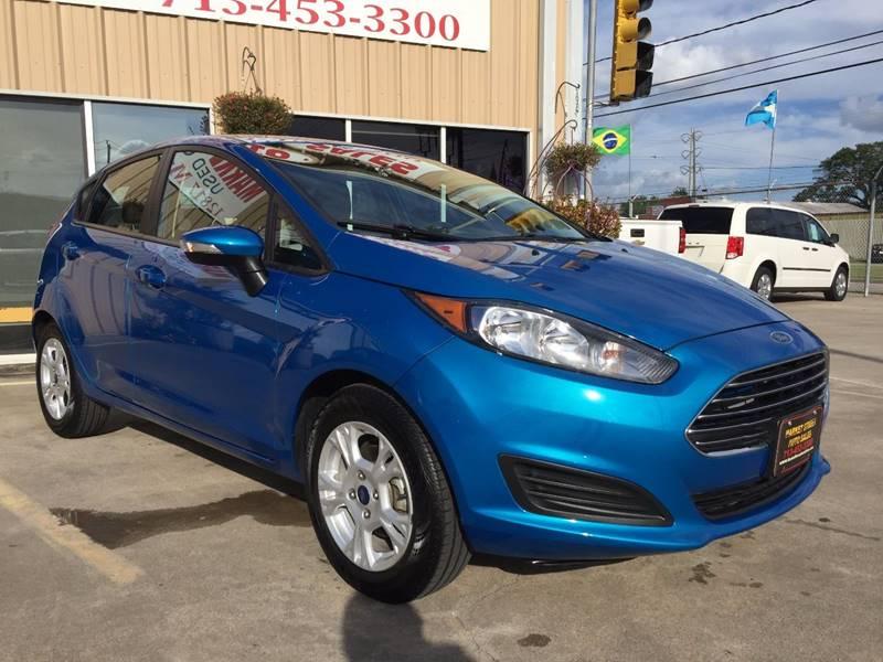 2015 Ford Fiesta SE 4dr Hatchback - Houston TX