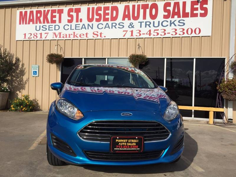 2015 Ford Fiesta SE 4dr Hatchback - Houston TX