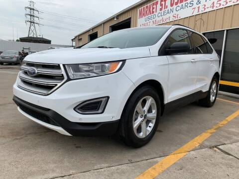 2016 Ford Edge SE for sale at Market Street Auto Sales INC in Houston TX