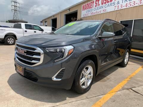 2018 GMC Terrain SLE for sale at Market Street Auto Sales INC in Houston TX