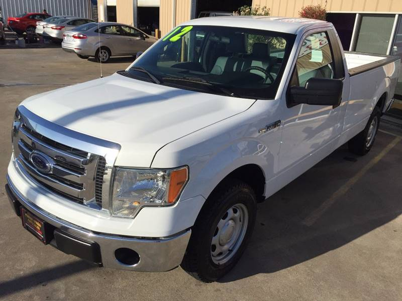 2012 Ford F-150 4x2 XL 2dr Regular Cab Styleside 8 ft. LB - Houston TX