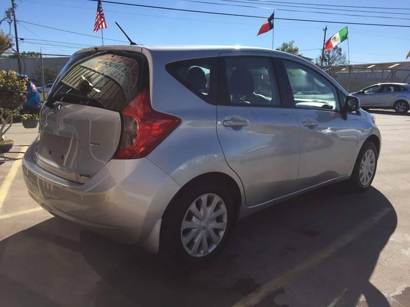 2014 Nissan Versa Note SV 4dr Hatchback - Houston TX