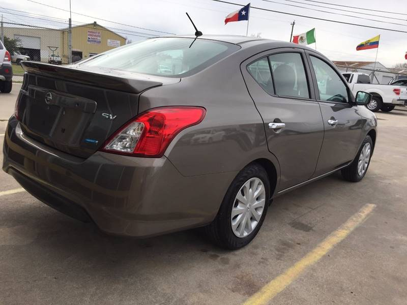 2015 Nissan Versa 1.6 SV 4dr Sedan - Houston TX