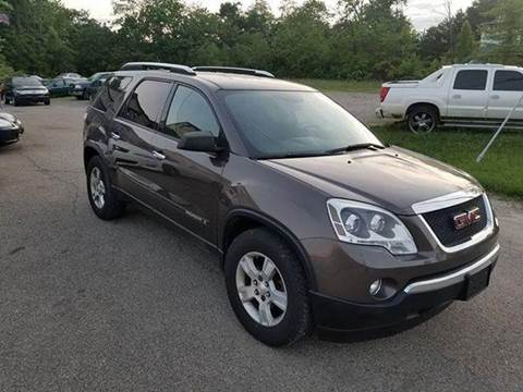 2007 GMC Acadia for sale at SUPERIOR AUTO MART in Amelia OH
