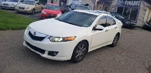 2009 Acura TSX for sale at SUPERIOR AUTO MART in Amelia OH