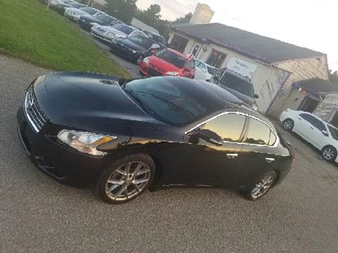 2009 Nissan Maxima for sale at SUPERIOR AUTO MART in Amelia OH
