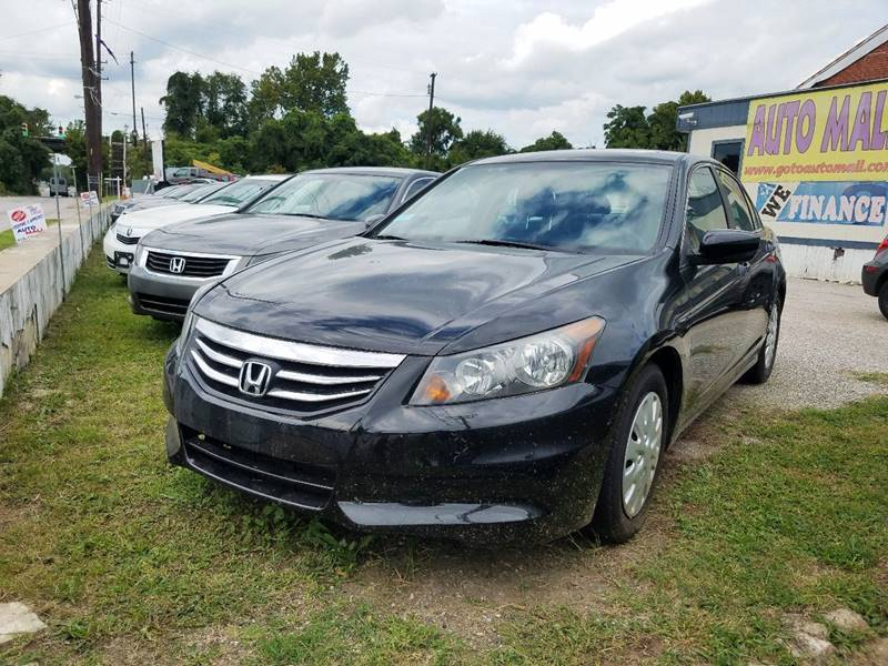 2012 Honda Accord For Sale At Auto Mall In Baltimore MD