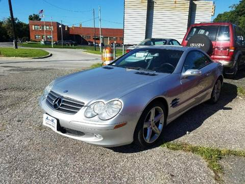 Mercedes benz sl class for sale in baltimore md for Mercedes benz in baltimore md