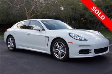 2015 porsche panamera for sale in homestead fl - Porsche Panamera White Red Interior