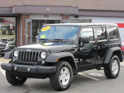 2014 Jeep Wrangler Unlimited for sale in Lynn, MA