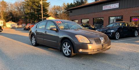 2005 Nissan Maxima for sale in Plaistow, NH