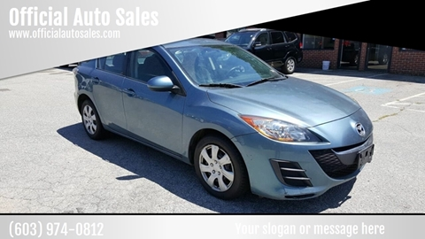 2010 Mazda MAZDA3 for sale in Plaistow, NH