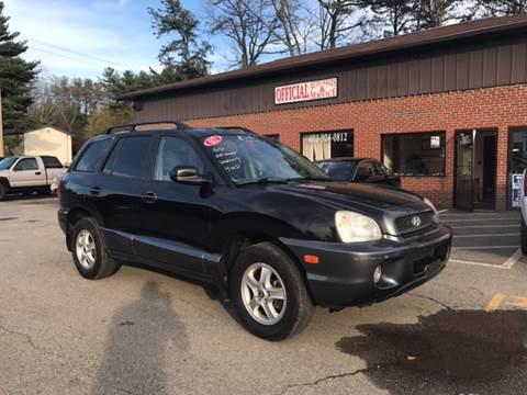 2002 Hyundai Santa Fe for sale in Plaistow, NH