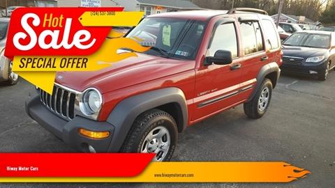 2003 Jeep Liberty for sale in Latrobe, PA