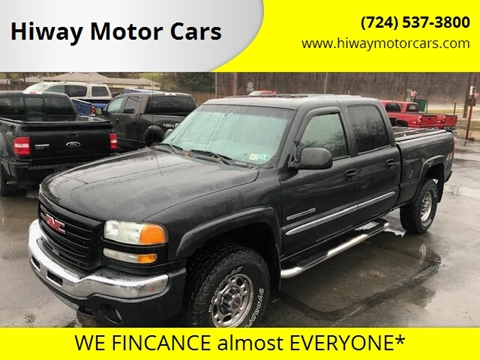 2003 GMC Sierra 2500HD for sale in Latrobe, PA
