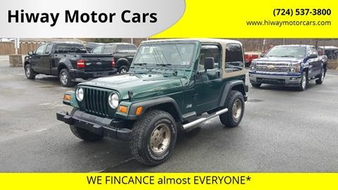 2001 Jeep Wrangler for sale in Latrobe, PA
