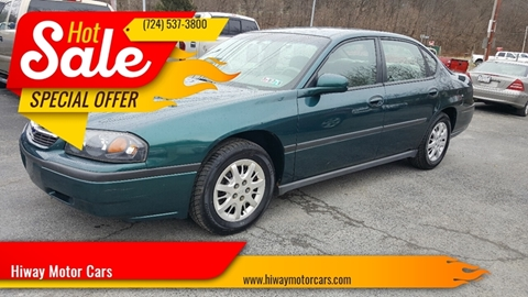2000 Chevrolet Impala for sale in Latrobe, PA
