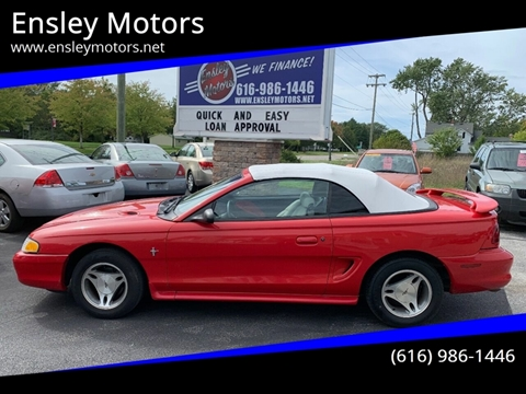1998 Ford Mustang for sale in Allendale, MI