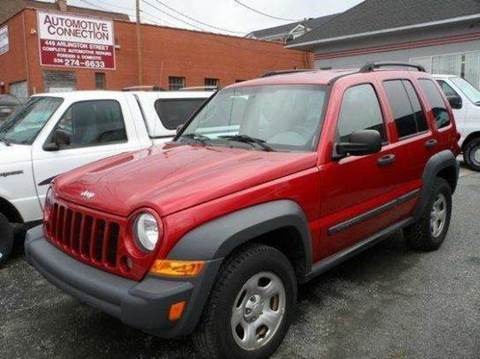 2006 Jeep Liberty for sale at Specialty Bank Liquidators in Greensboro NC
