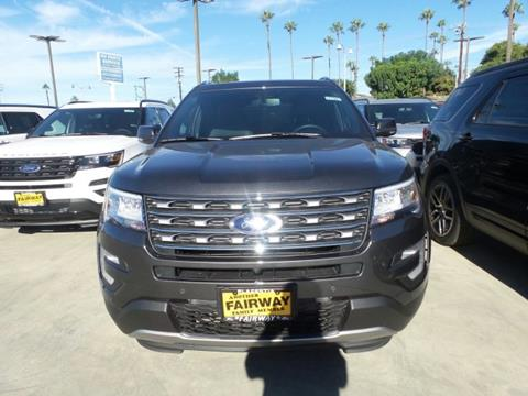 2017 Ford Explorer for sale in Anaheim, CA