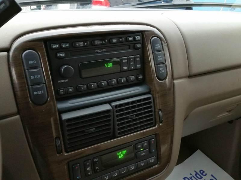 2002 Ford Explorer Eddie Bauer 4WD 4dr SUV - Villa Park IL